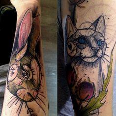 Tattoos done bySven Groenewald.https://instagram.com/sven_von_kratz/