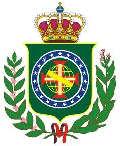 CoA Empire of Brazil by TiltschMaster Coat of arms