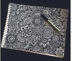 Zentangle Art de Dani Hoyos