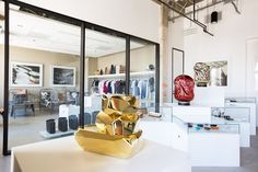 Hyper-luxury boutique/gallery caters for a new class of shopper... http://www.we-heart.com/2014/07/22/please-do-not-enter-los-angeles/