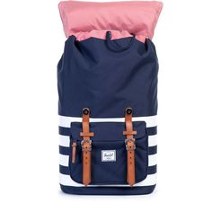 Little America Backpack in Peacoat Offset