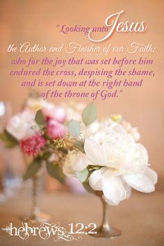 Hebrews 12:2 KJV