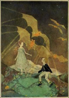 Illustration for Mopsa the Fairy - Dorothy Lathrop