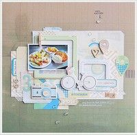 A Project by magnette from our Scrapbooking Gallery originally submitted 05/27/13 at 07:49 AM