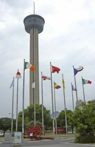 San Antonio - Tower of the Americas revolving restaurant