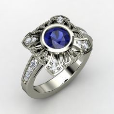 vintage eclectic engagement rings - Google Search