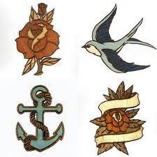 Vintage tattoos - print ideas
