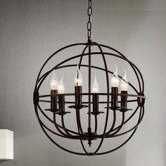 Bird Cage 6-Light Candle-Style Chandelier #birchlane