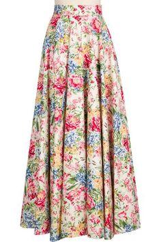 Grand Ball Skirt - Floral