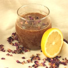 Brown Sugar & Lemon Scrub