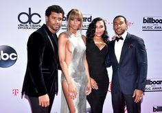Pin for Later: Les 22 Meilleures Photos des Billboard Music Awards Ludacris, Ciara, Russell Wilson, et Eudoxie Mbouguiengue
