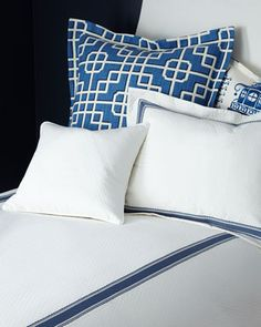 Ascot Geo Bedding by Legacy at Horchow.