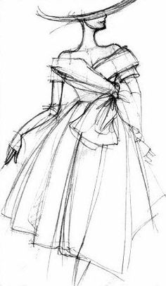 illustration fashion mode