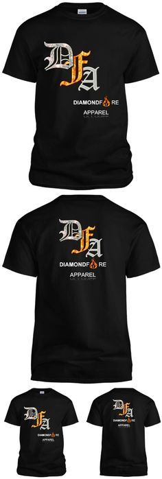 "This is much more than just a t-shirt. It's a productive message for strong minds only... from an independent, upcoming fashion brand with an eerily cosmic name and slogan to match: ""Shine like a diamond, in HOTTT like fire apparel."" 