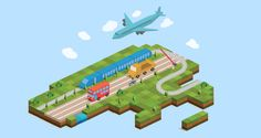 Isometric City Map Builder (UPDATED) by Designers Revolution , via Behance
