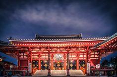 Senso-Ji Temple, Asakusa | Admire these gorgeous photos of Japan: http://www.roughguides.com/article/15-gorgeous-photos-of-japan/