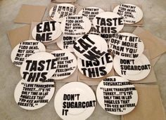 A set of 'campaign crockery' from Pentagram.  via @PWCFreelance