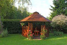 Geschlossener Gartenpavillon