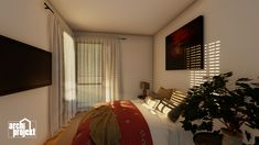 Projekt moderného 4-izbového rodinného domu s názvom Bravo. Súčasťou domu je komfortná obývacia izba spojená s kuchyňou , spálňa, dve detské izby, samostatné WC, kúpeľňa, sklad potravín, šatník, hospodárska miestnosť a letná terasa. Zaujimavosťou domu je zvýšená svetlá výška obývacieho priestoru, ktorá zabezpečuje optimálne presvetlenie dennej časti domu. Bed, Furniture, Home Decor, Decoration Home, Stream Bed, Room Decor, Home Furnishings, Beds, Home Interior Design