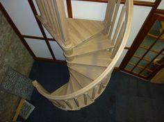 Solid Timber Spiral Staircases | Wooden spirals - Cottage Craft Spirals