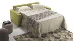 Divano letto con materasso alto cm. 18 Azzorre Easy in vendita da Tino Mariani.  http://www.tinomariani.it/prodotti/divano-letto-azzorre-easy.html