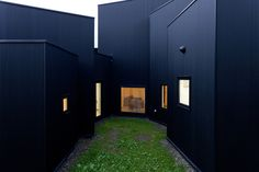 Small Residence, Huge Impact With Black Facade, White Interiors | Decor Advisor