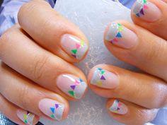 ・ ongles fanions ・