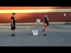Kick Soccer Ball Into Basket: #phed #physicaleducation #physical education #homeschool #kick Physical Education, Soccer Ball, Physics, Coaching, Homeschool, Kicks, Basket, Wrestling, Sports