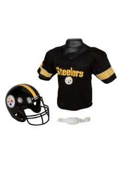 05d56f7b179 Child NFL Pittsburgh Steelers Helmet and Jersey Costume Set