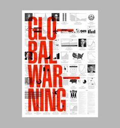 #infographic - Global Warning - Art & Design by D. Kim