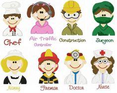 Future Career Kids from Julia's Needle Designs