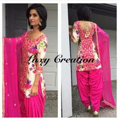 Punjabi Suit by Luxy Creation