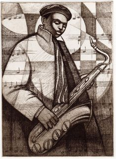 Keith Mallett Rhapsody featuring the complete Keith Mallett collection. View images from the Keith Mallett Gallery. We are an Authorized Dealer for the African American Art of Keith Mallett African American Artist, African Art, American Artists, Sheet Music Art, Art Music, Illustrations, Illustration Art, Jazz Art, Canadian Art