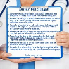 American Nurses Association – Nurses' Bill of Rights Explained – Nursing Career Advice Twitter Jobs, Student Info, Nursing Career, Bill Of Rights, Desk Space, Career Advice, New Job, Nurses, Health Care