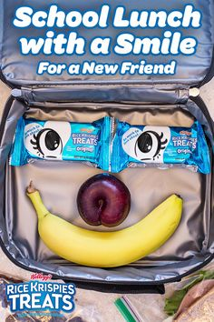 Meeting a new classmate can be nerve-racking, but it's a great chance to make a friend! Send your kids back to school with a lunch box that's full of love, support… & extra Rice Krispies Treats to share with their classmates during lunch!