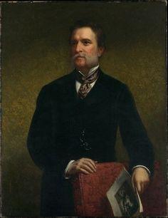 John Taylor Johnston Poster Print by Daniel Huntington (18 x 24)