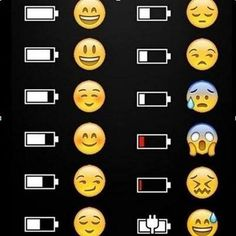 ] The Emoji Explains It funny jokes phone lol humor emoji battery Funny Texts, Funny Jokes, Hilarious, It's Funny, Typographie Logo, Whatsapp Videos, Emoji Love, Emoji Wallpaper, Humor Grafico