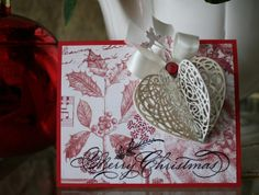 Marybeth's time for paper: Serendipity Christmas Card - change up for valentines