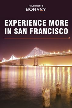 Discover the best of the Bay Area with Marriott Bonvoy™. Book ahead to unlock advanced purchase rates. Maui Vacation, Vacation Destinations, Dream Vacations, Vacation Spots, Cool Places To Visit, Places To Travel, San Francisco Travel, Bus Travel, Fantasy Landscape