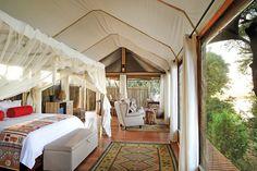 campamentos de safari africano d