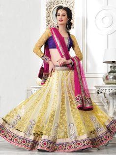 Semi Stitched Lehanga Choli - JKLC6846