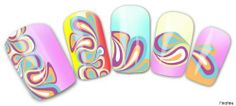 Findfine - Colorful Pattern,3D Nail Tattoo Pretty Pattern,2 Packs,Gold,Nail 3D Art Tattoo Nail Art Nail Deacl Nail Stickers Water Transfer Tattoo £¨#No212£© Findfine,http://www.amazon.com/dp/B00H7G4S80/ref=cm_sw_r_pi_dp_Aloatb0FDDGHRJZK