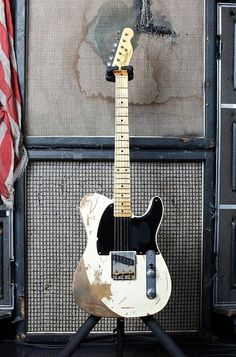 Joe Perry's Fender Custom Shop Jeff Beck Esquire Replica. Used for Last Child.