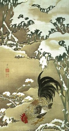 Jakuchu ITO (1716-1800) 伊藤若冲                                                                                                                                                                                 もっと見る