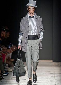 Daks Menswear S/S 2013 Milan; top hat