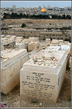Cemetery Mount of Olives. Israel
