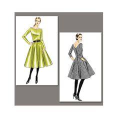 Dress, Vogue V8615 - Evening wear - Dresses - myfabrics.co.uk