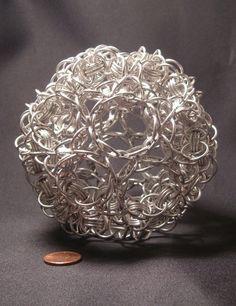 Truncated Icosahedron by BorosilicateArachnid.deviantart.com on @deviantART