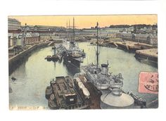 CPA - BREST (29) - LE PORT DE GUERRE - 1905