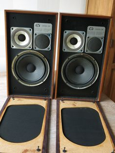 Pair of Vintage WHARFDALE Linton 3 XP Loudspeakers